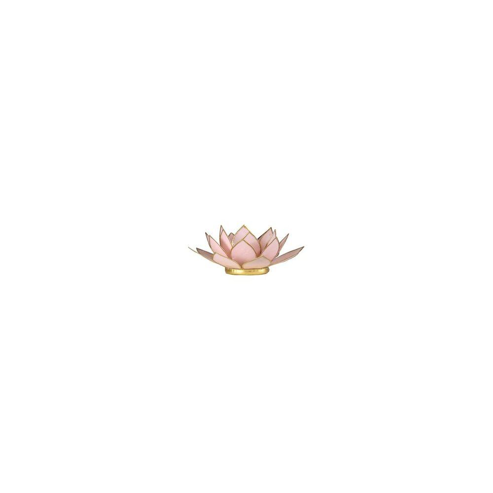 Mécsestartó Lótuszvirág 13,5 cm - pink