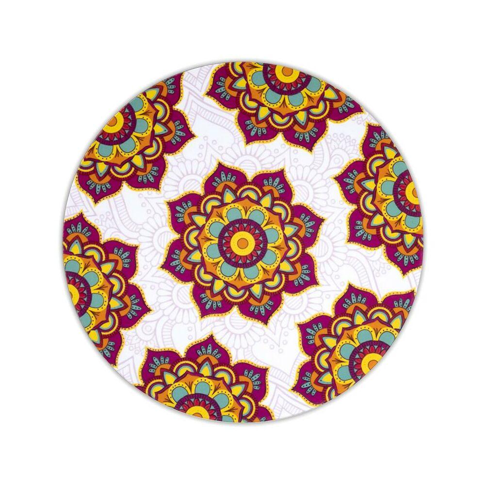 Mandala alátét kerek piros 6-os készlet