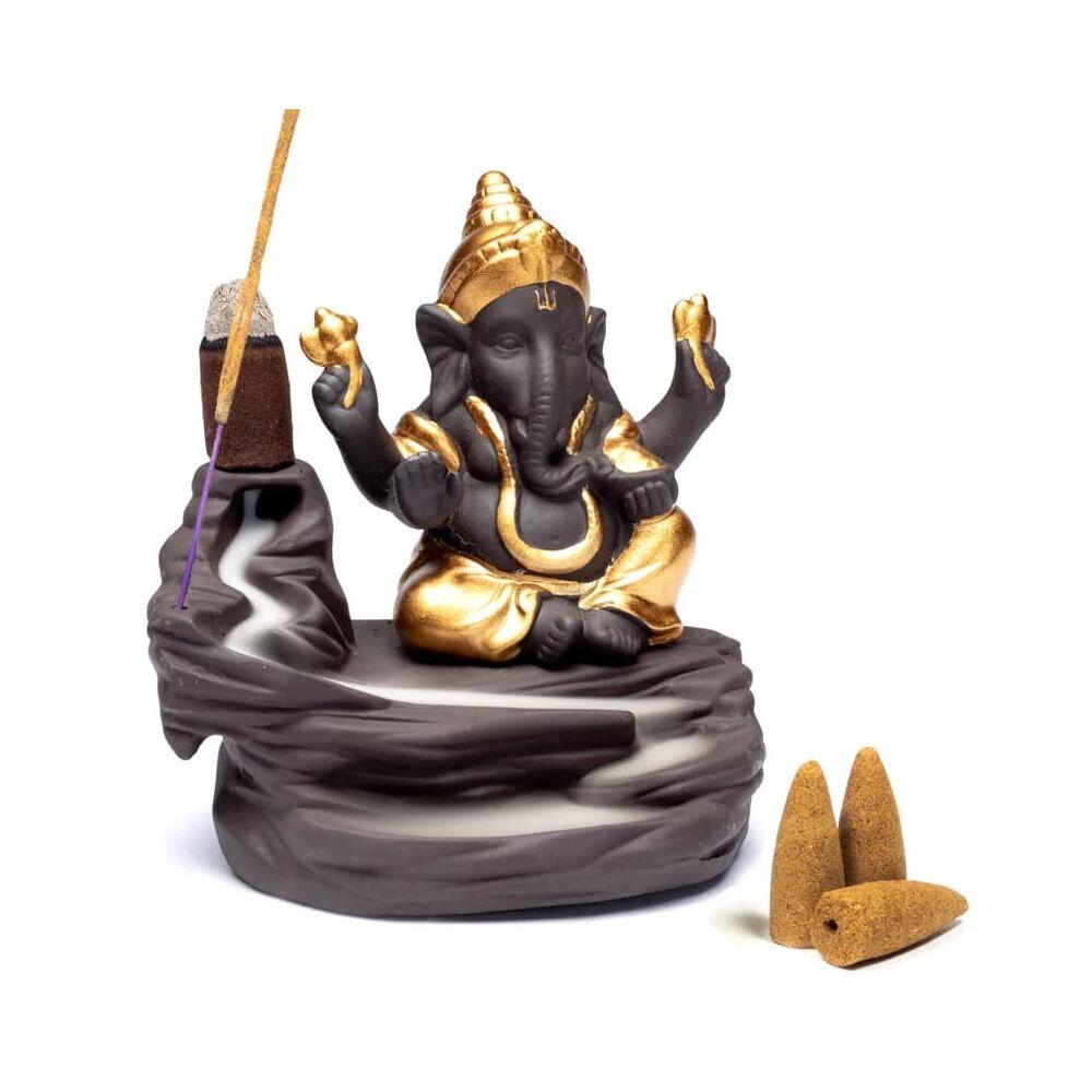 Visszafolyó füstölő - Ganesh