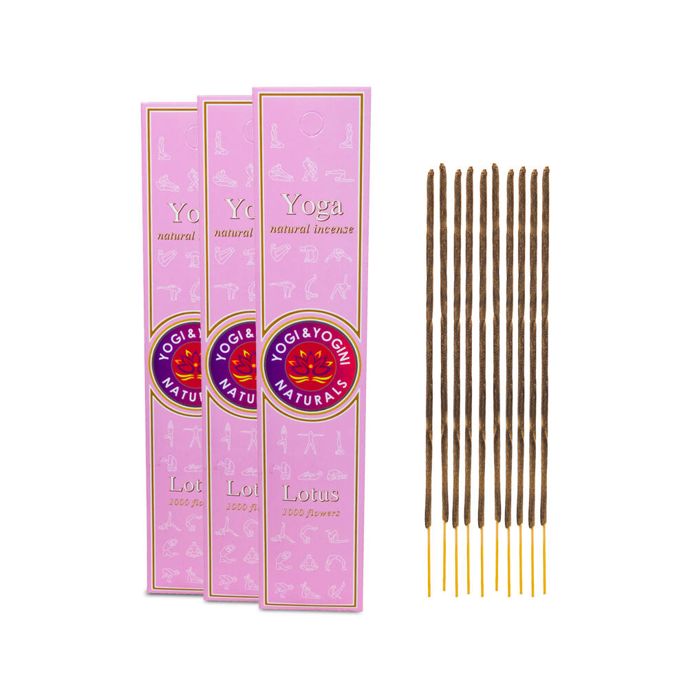 Füstölő - Yoga Lotus - jóga lótusz, vanília