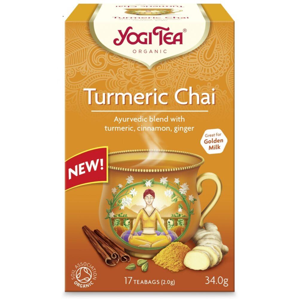 Yogi tea - Turmeric Chai - Kurkumás chai tea