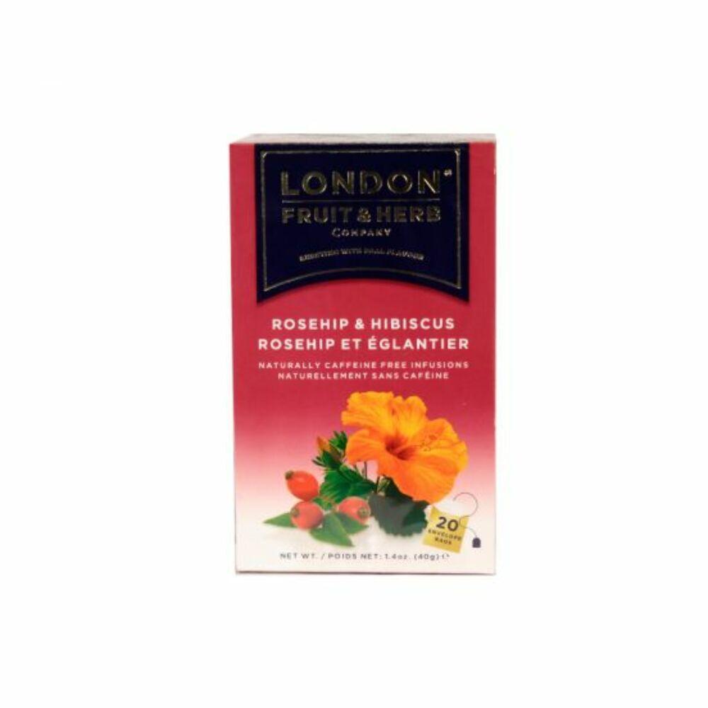 London csipkebogyó hibiszkusz tea 20db