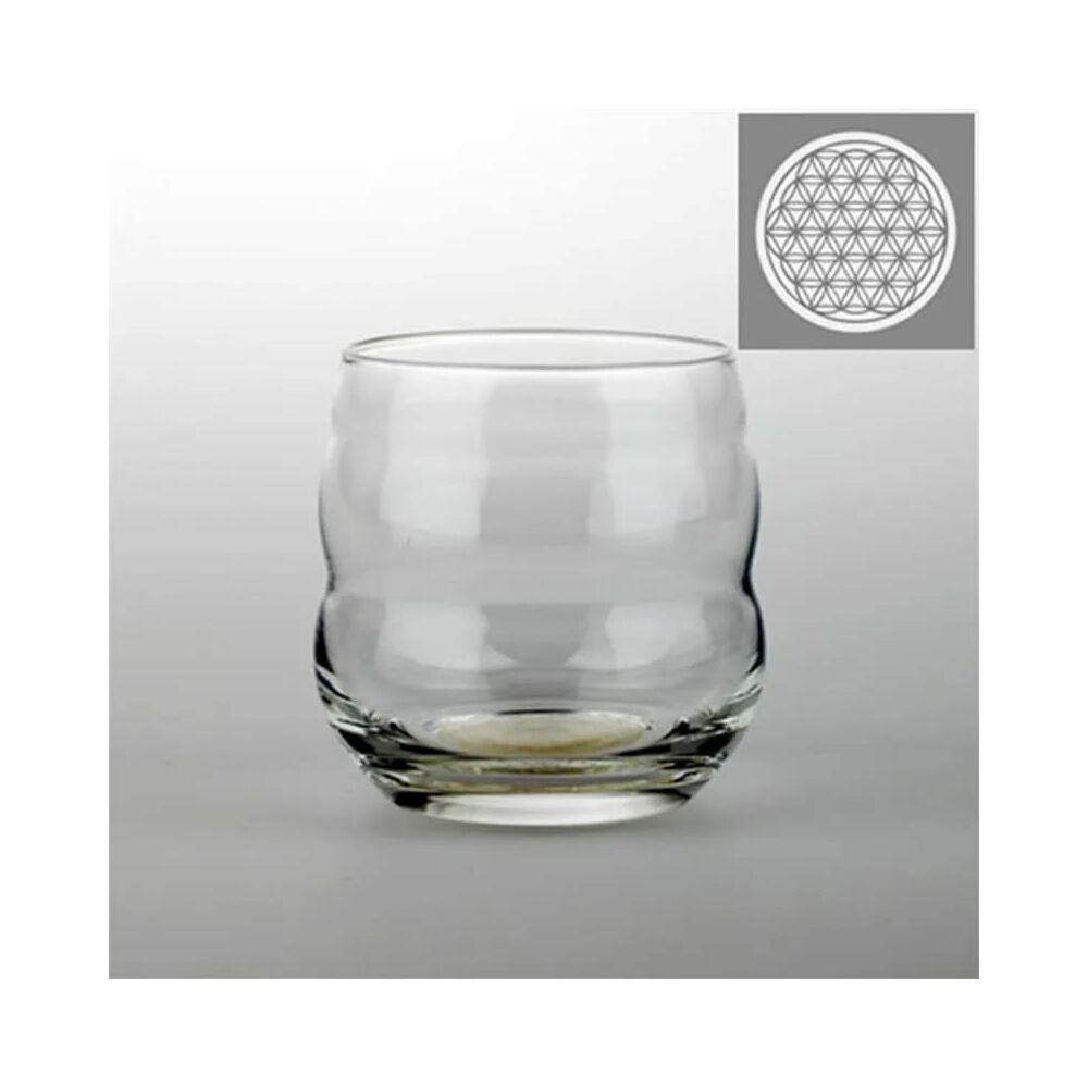 Ivópohár - Mythos Élet Virága - platina, 250 ml