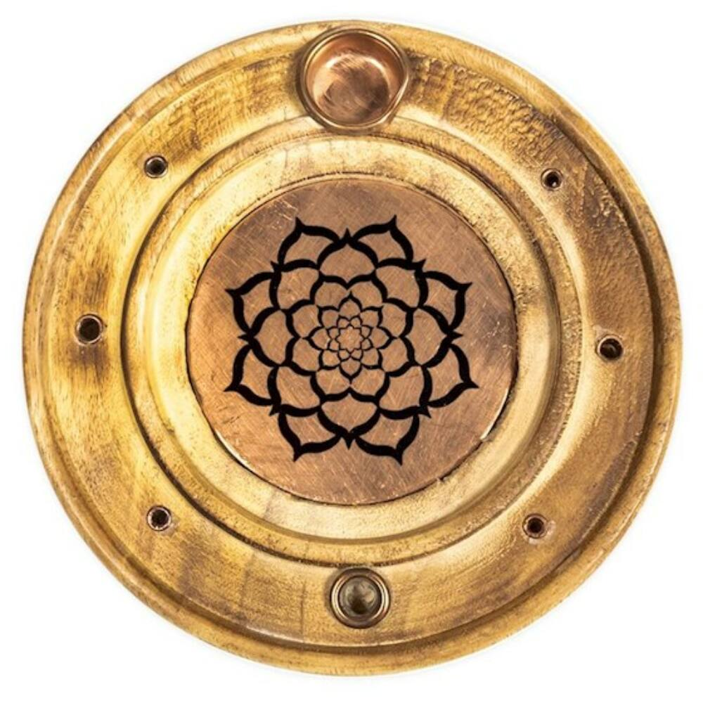 Füstölőtartó - Lótusz Mandala mintával