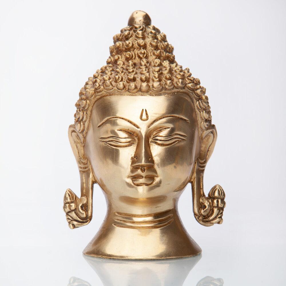 Buddha fej szobor -15 cm