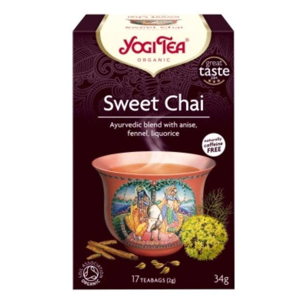 Yogi tea - Sweet Chai - Édes Chai tea