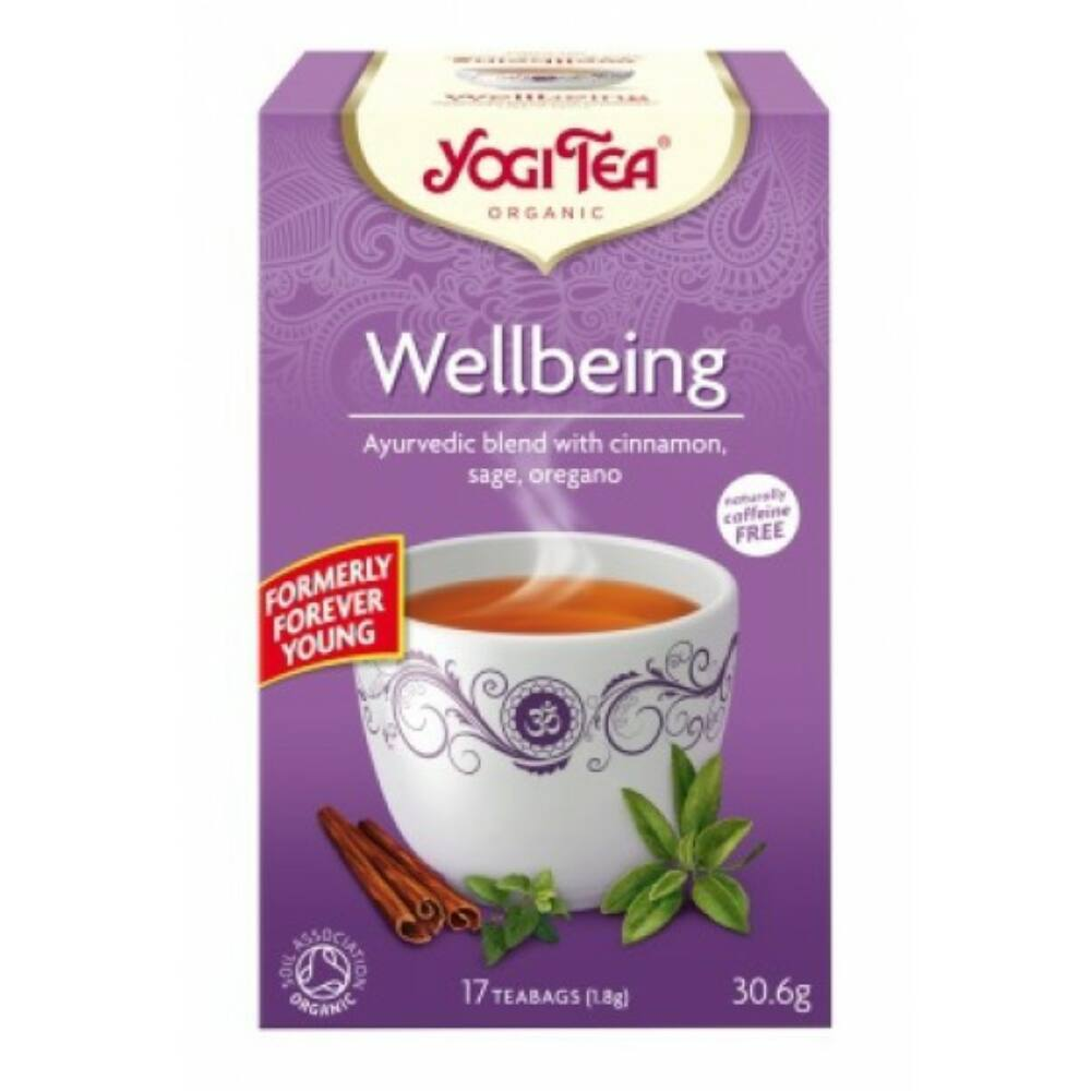 Yogi Tea - Wellbeing - Jó közérzet tea, bio