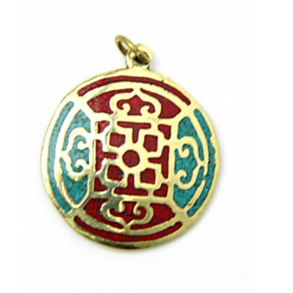Mandala medál (lánc nélkül)