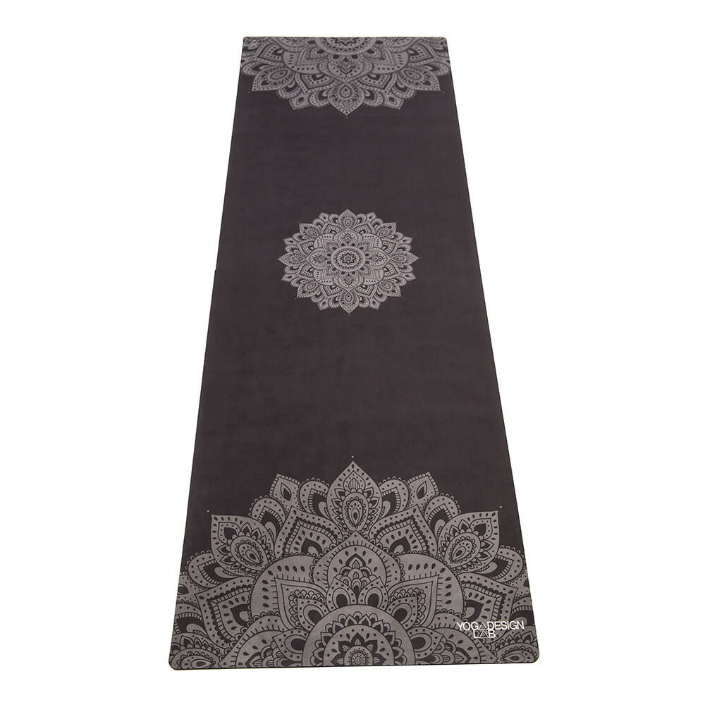 Yoga Design Lab Travel matrac 1,5mm Mandala Black, fekete