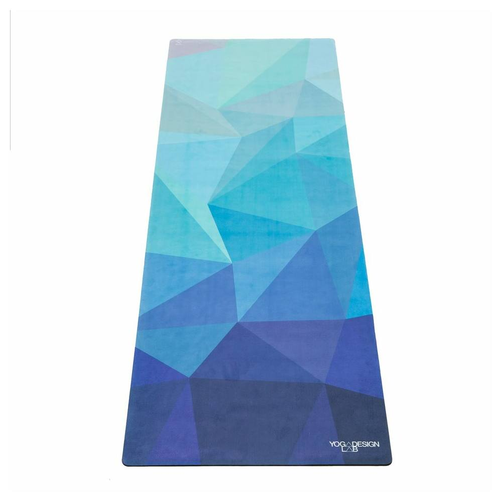 Yoga Design Lab Combo matrac, 3,5mm, Geo Blue, Türkiz