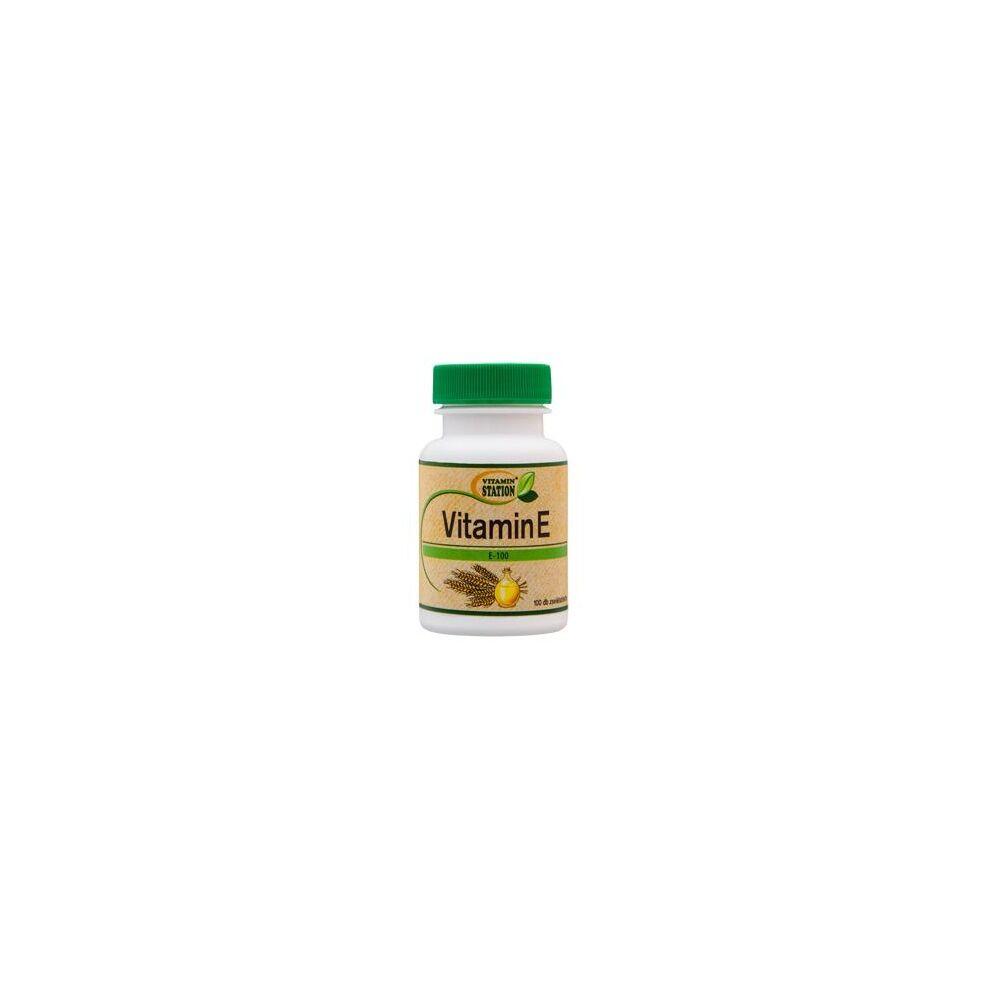 Vitamin Station E-vitamin gélkapszula – 100db