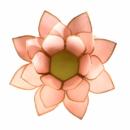 Mécsestartó Lótuszvirág több színben 13,5 cm