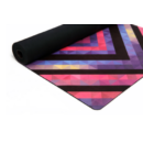 Yoga Design Lab Travel matrac 1mm Chevron Maya, Fekete