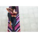 Yoga Design Lab Combo matrac, 3,5mm Chevron Maya, Fekete