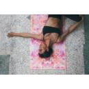 Yoga Design Lab Travel matrac 1 mm Kaleidoscope, Narancssárga