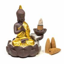 Visszaáramló füstölőtartó - Buddha