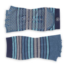 Gaiam - lábtyű - jóga zokni -kék