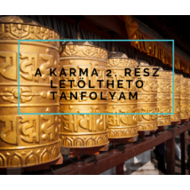 A karma 2. - letölthető online meditációs tanfolyam
