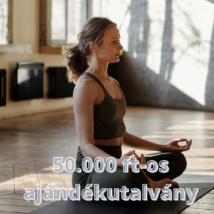 Ajándékutalvány a Webshopba: 50.000 Ft