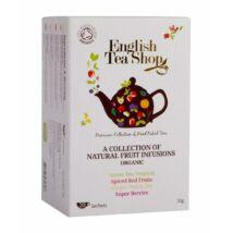 English Tea Shop bio gyümölcstea variációk 20db