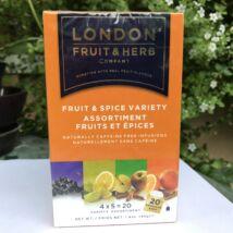 London gyümölcs fűszeres koffeinmentes tea 20db/csomag