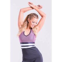 Scaly fitness trikó, pink 'S'