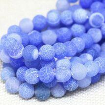 MÁLA - karkötő kék achátból, Életfa függővel, M