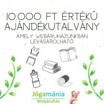 Ajándékutalvány a Webshopba: 10.000 Ft