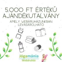 Ajándékutalvány a Webshopba: 5000 Ft