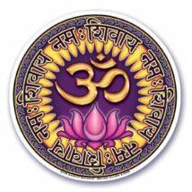Ablakmatrica Aum Namah Shivaya 10,5cm