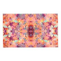 Yoga Design Lab kézi törölköző, Kaleidoscope, Narancssárga