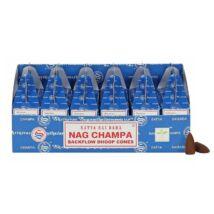 Nag Champa visszaáramló füstölő kúpok