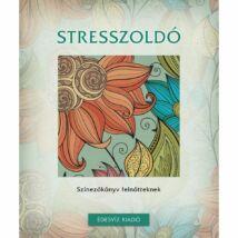 Stresszoldó színezőköny felnőtteknek
