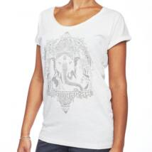 Ganesha vintage női felső, fehér