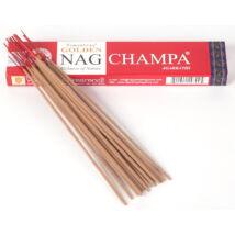 FÜSTÖLŐ - Golden Nag Champa, piros, Satya, 15 g