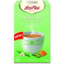 Yogi Tea - White Tea with Aloe Vera - Fehér Tea Aloe Verával