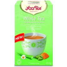 Yogi Tea - White Tea with Aloe Vera - Fehér Tea Aloe Verával
