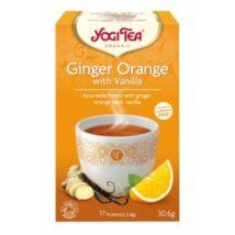 Yogi Tea - Ginger Orange Gyömbéres narancsos vaníliával