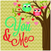 Hűtőmágnes - You&Me