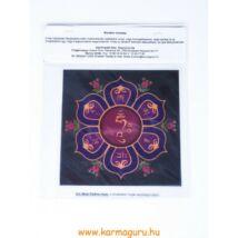 Ablakmatrica - Om Mani Padme Hum (13cm)