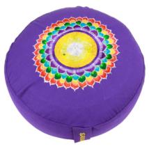 Meditációs párna Sahasrara csakra, korona csakra