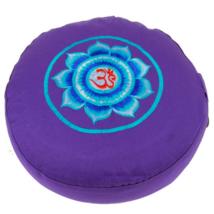 Meditációs párna Om mandalával, 3. szem csakra