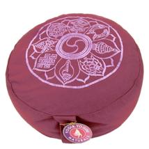 Meditációs párna a tibeti 8 szerencse jellel