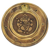 Füstölőtartó - Ganesh - Fa