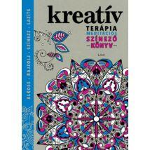 Kreatív terápia – Meditációs színezőkönyv