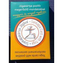 Szankalpakártya: Jóga Kártya pozitív megerősítésekkel