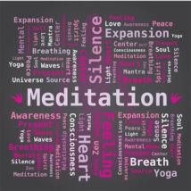 Hűtőmágnes -Meditation