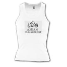 ASRAM Jógaközpont trikó fehér-S