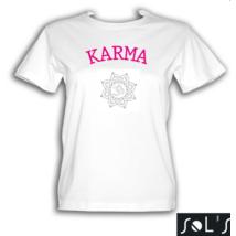 Karma fehér színű póló