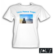 Love Peace Yoga póló